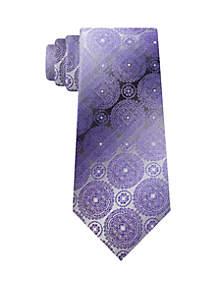 Van Heusen Dennis Medallion Print Neck Tie