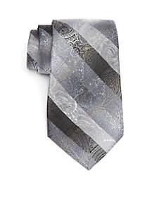 Duke Paisley Print Necktie