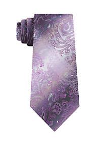 Danny Paisley Print Neck Tie