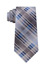 Hayden Plaid Print Neck Tie