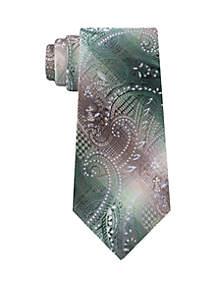 Hussein Paisley Print Neck Tie