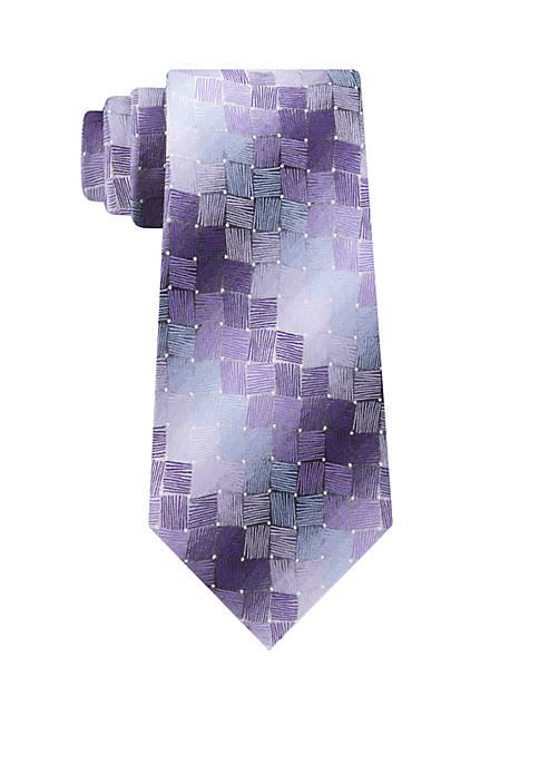 Acacia Geometric Tie