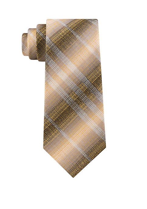 Acton Plaid Tie