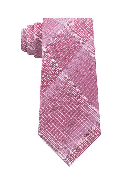 Active Plaid Tie