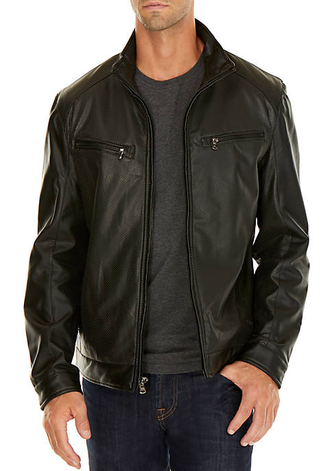 Hume Perforated Front Jacket