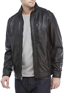 Leather Hipster Jacket