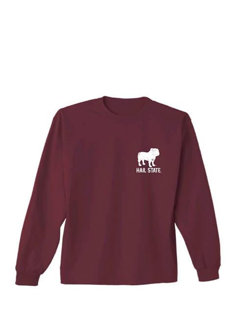 Comfort Colors Mens NCAA Mississippi State Bulldogs Bulldog