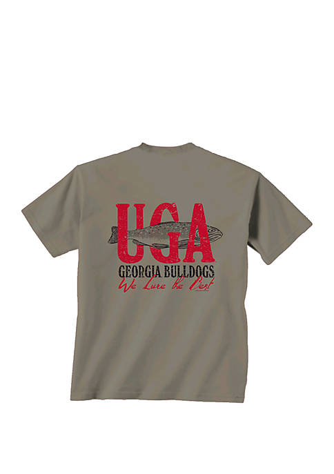 New World Graphics Georgia Bulldogs We Lure T