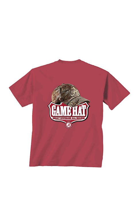 Alabama Crimson Tide Game Hat T Shirt
