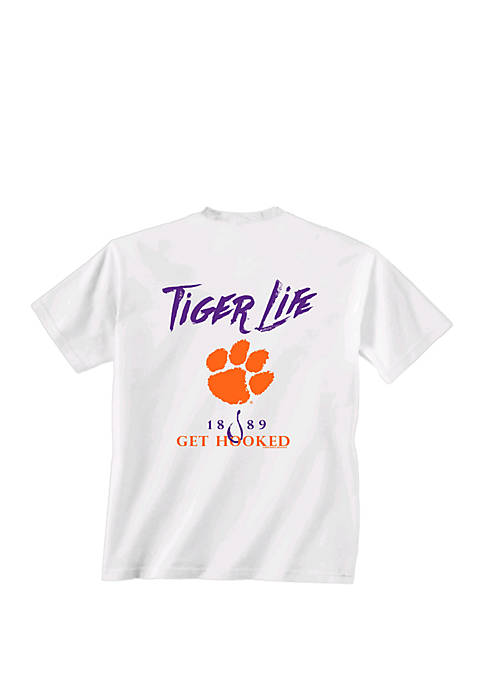 New World Graphics Clemson Tigers Get Hooked T