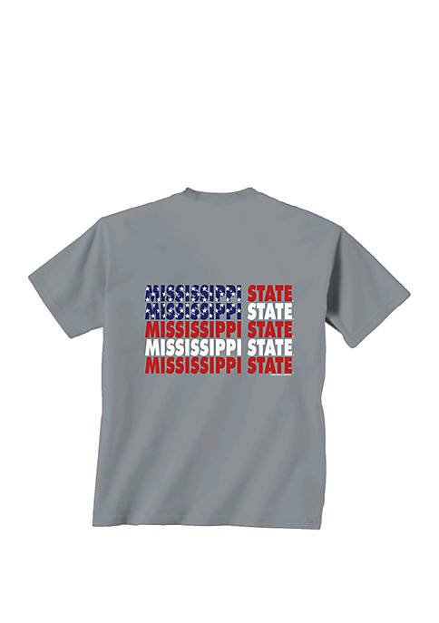 New World Graphics Mississippi State Bulldogs Patriotic T