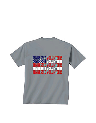 online store d0a88 24b86 New World Graphics. New World Graphics Tennessee Volunteers Patriotic Words  T Shirt