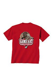 New World Graphics Georgia Bulldogs Game Hat T Shirt