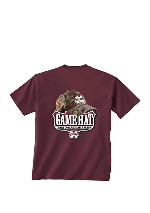 Mississippi State Bulldogs Game Hat T Shirt