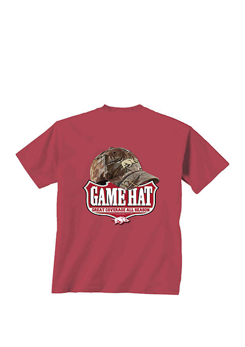 New World Graphics Arkansas Razorbacks Game Hat T