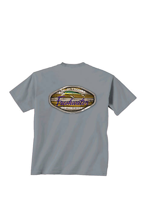 New World Graphics LSU Tigers Freshwater T Shirt