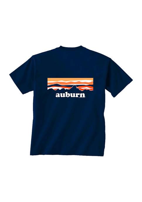 Comfort Colors NCAA Auburn Tigers Sky Mountain T-Shirt