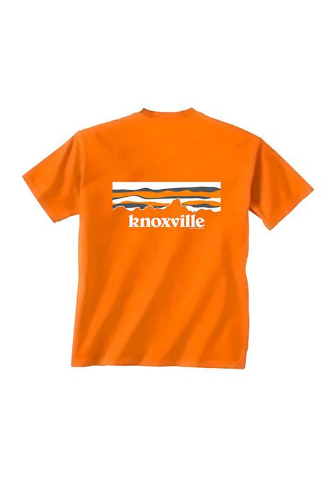 Comfort Colors NCAA Tennessee Volunteers Sky Mountain T-Shirt