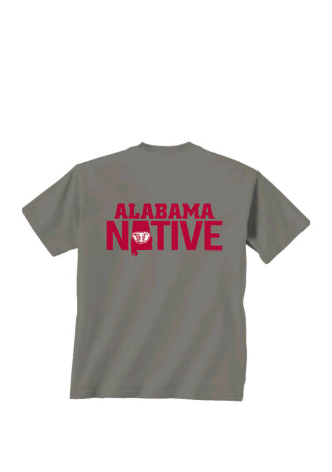 New World Graphics Mens NCAA Alabama Crimson Tide