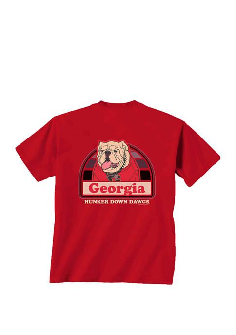 New World Graphics Mens NCAA Georgia Bulldogs Portrait