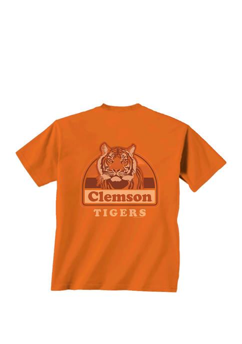 New World Graphics Mens NCAA Clemson Tigers Portrait