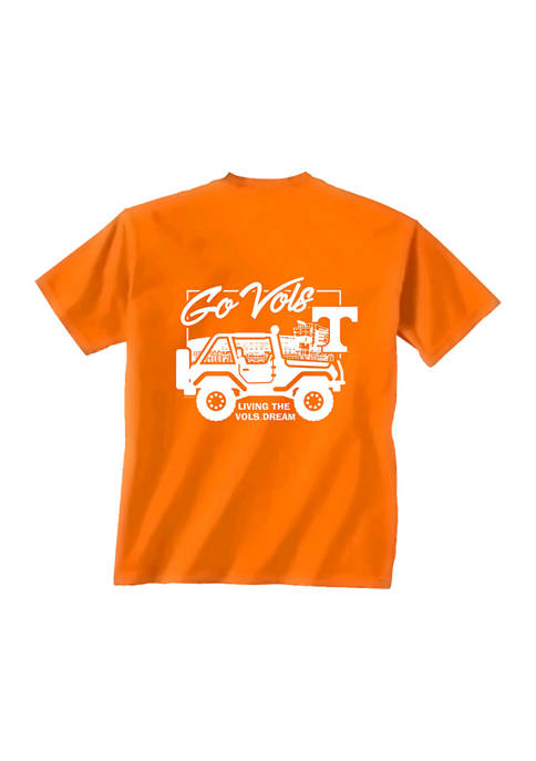 Comfort Colors NCAA Tennessee Volunteers Jeep Life T-Shirt