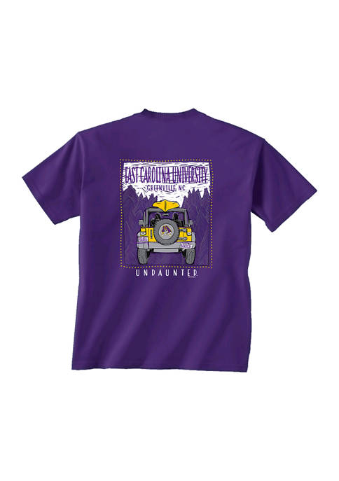 Comfort Colors NCAA ECU Pirates Jeep College T-Shirt