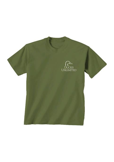 Gildan Softstyle Ducks Unlimited Short Sleeve Canine Graphic