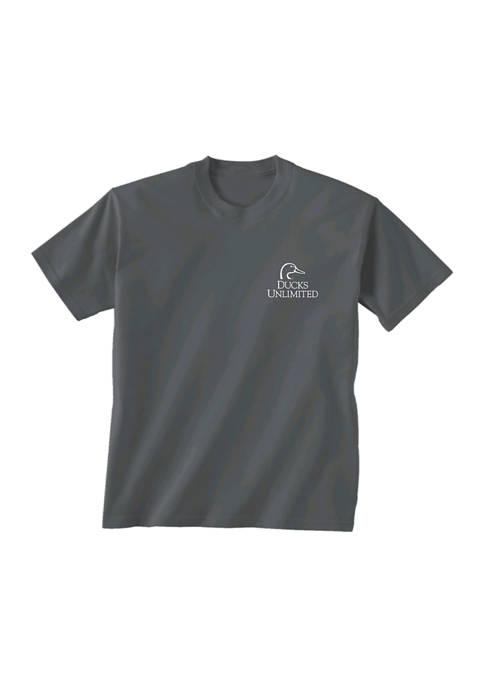 Gildan Softstyle Ducks Unlimited Short Sleeve Truck Graphic