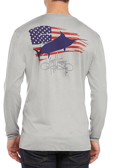 Guy Harvey® Patriot Long Sleeve T-Shirt