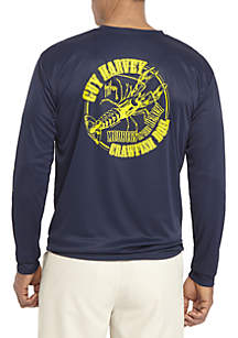 Long Sleeve Performance Crawfish Boil Top