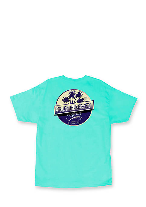 Guy Harvey® Short Sleeve Tuna Boat Graphic Tee