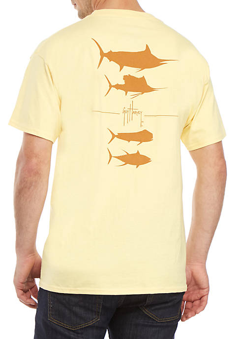 Guy Harvey® Short Sleeve Hypersonic Graphic Tee