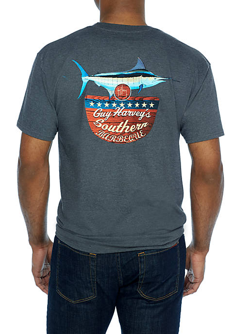 Guy Harvey® Short Sleeve Southern BBQ Tee