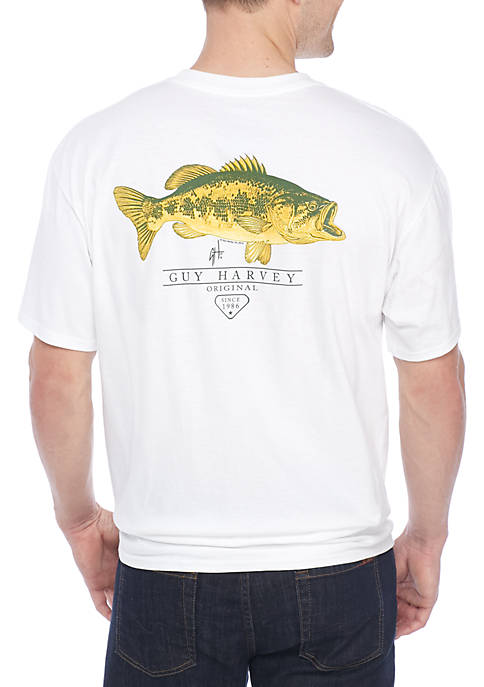 Guy Harvey® Short Sleeve Combat Tee Shirt