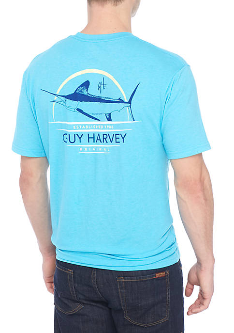 Guy Harvey® Short Sleeve Juice Box Triblend Tee