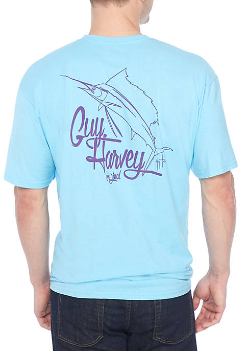 Guy Harvey® Vector Short Sleeve Graphic Tee