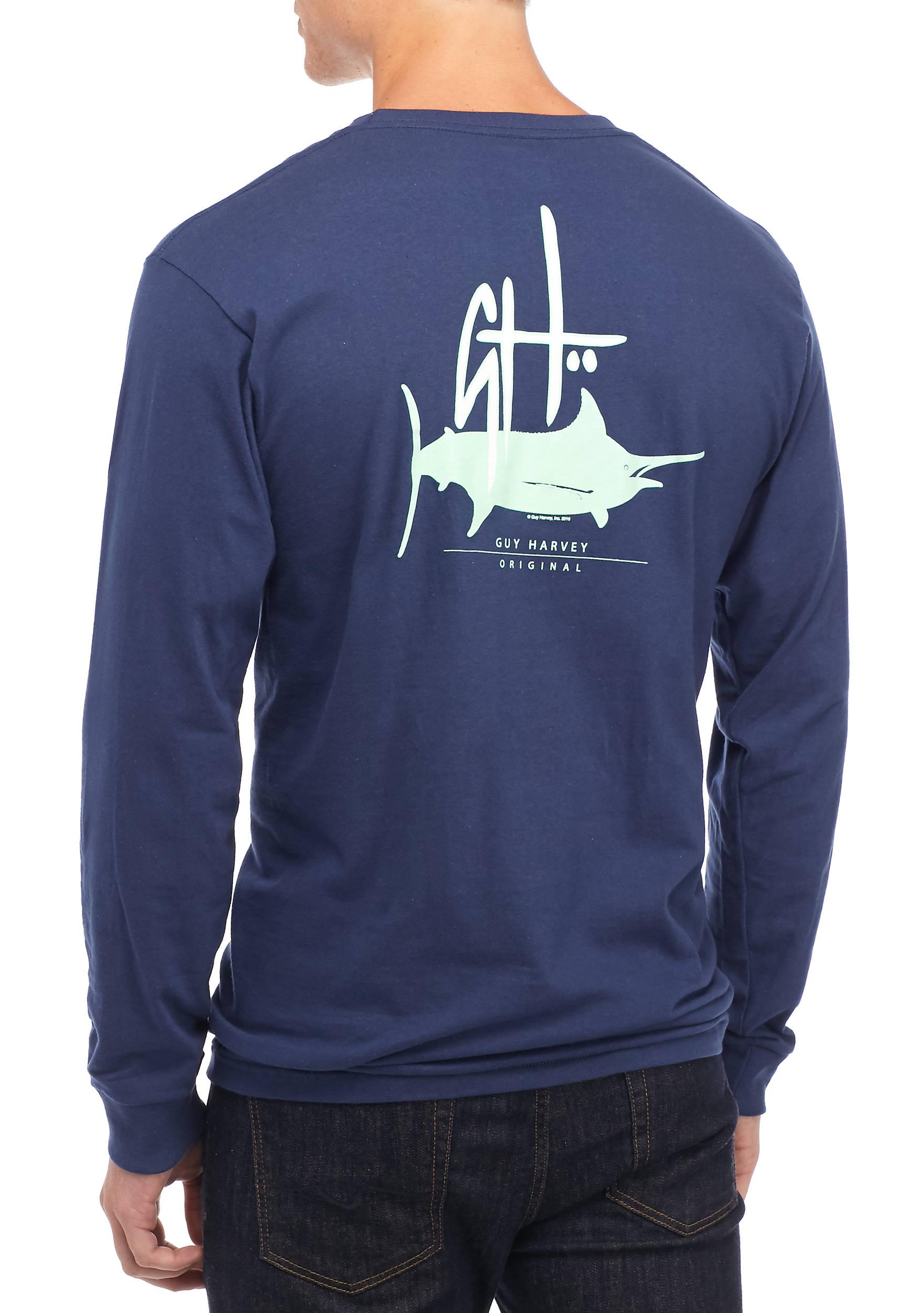 8c06f086ff25 Guy Harvey Long Sleeve T Shirts | Toffee Art
