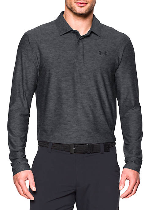 Under Armour® Playoff Long Sleeve Polo Shirt