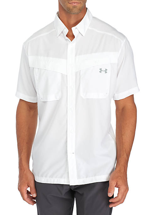 Under Armour® Tide Casher Solid Woven Shirt