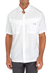 Tide Casher Solid Woven Shirt