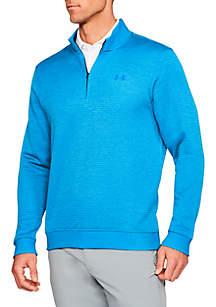 Storm Quarter Zip Stripe Sweater