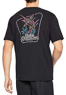 Neon Marlin Tee Shirt