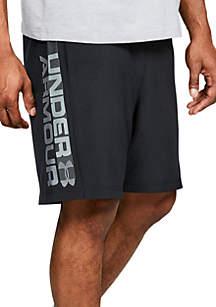 Woven Wordmark Shorts