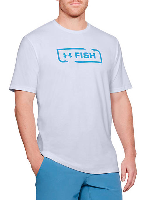 Under Armour® Fish Hook Sportstyle Tee Shirt