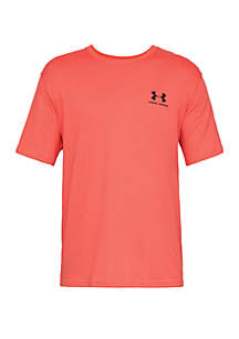 Under Armour® Short Sleeve Left Chest Logo Tee
