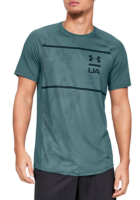 Under Armour® Short Sleeve Printed Shirt