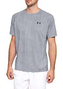 UA Tech™ 2.0 Printed Short Sleeve