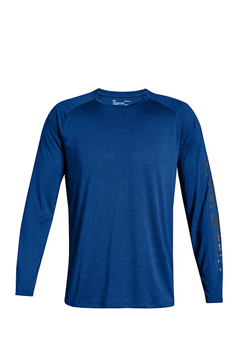 Under Armour® Tech Long Sleeve Graphic Tee