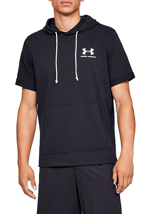 Sportstyle Terry Short Sleeve Hoodie